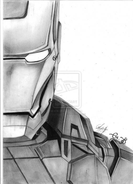 Iron Man by darken112